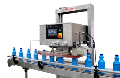 Capping and screw Machine