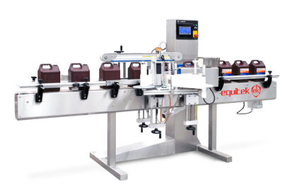 automatic label machine - Equitek USA