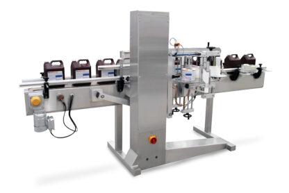 automatic bottle labeling machine - Equitek USA